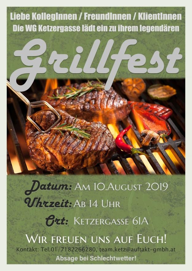 Grillfest Flyer