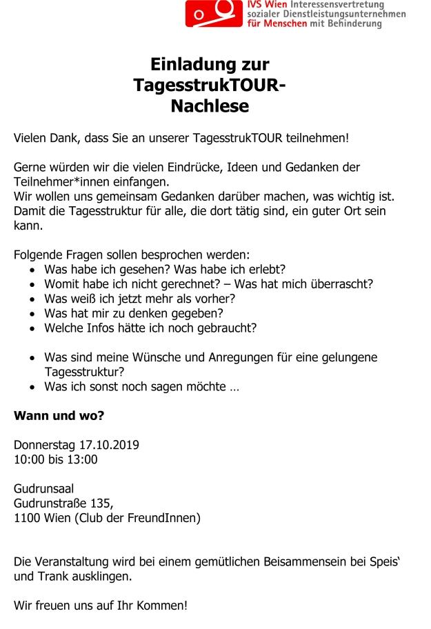 Microsoft Word - Einladung TagesstrukTOUR-Nachlese_2019